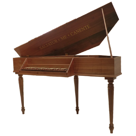 John Morley Virginal 4 Octave Walnut NEW